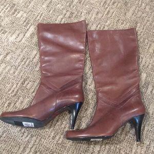 Star Ling NIGIRI Brown Boots Women's Sz 8